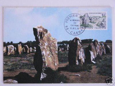 archaeology stamps