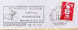 cycling on stamps