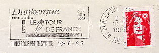 bicycle on stamps