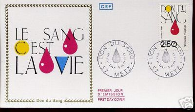 blood giving stamps