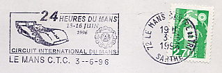 car race stamps