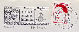 cinema on stamps