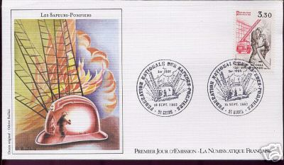 fire fighting stamps