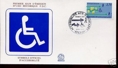 handicapped stamps