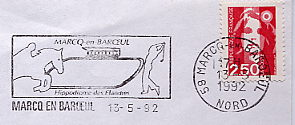 horse recing stamp