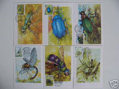 insects stamps