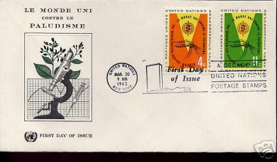 malaria stamps