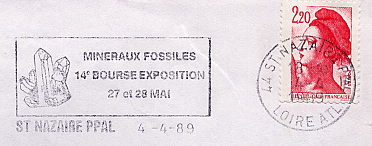 minerals on stamps