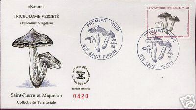 mushrooms stamps