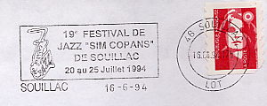 music instrument on stamps
