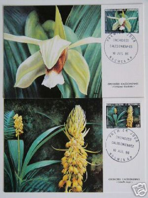 orchids stamps