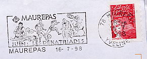 football on stamps