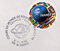football world cup stamps