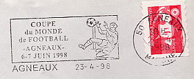football world cup on stamps