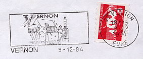 space shuttle on stamps