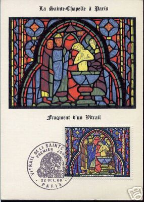 stained glass windows stamps