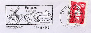windmill on stamps